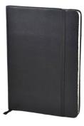 Monsieur Notebook Soft Leather Journal - Black Ruled Medium