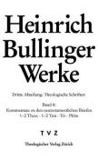 Heinrich Bullinger -- Werke: 3. Abteilung [GER]