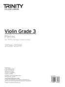 Violin Exam Pieces Grade 3 2016-2019