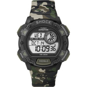 Timex Expedition Base Shock Chrono Alarm Timer Watch - Camo