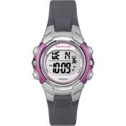 Marathon by Timex Women's Digital Mid-Size Grey and Pink Watch
