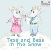 Tess and Bess in the Snow