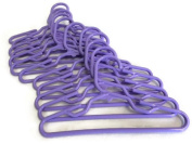Doll Hangers Set of 12 Lavender Plastic Fits 18 American Girl Doll Clothes, Doll Accessories