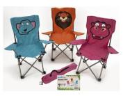 Kids Animal Folding Camping/Festival Children's Chair Elephant/Hippo/Lion