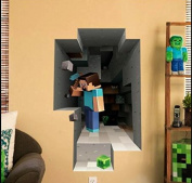 Minecraft Wall Decal Decor Steve
