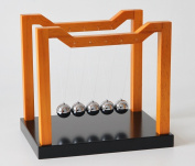 Newtons Cradle Balance Balls. Wooden Framed. By Lily's Home