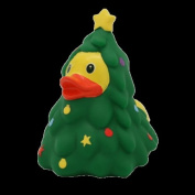 Lilalu 8 x 8 cm/50 g Collector and Baby Christmas Rubber Duck Bath Toy