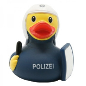 Lilalu 8 x 8 cm/50 g Collector and Baby Riot Police Rubber Duck Bath Toy