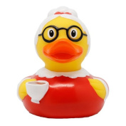 Lilalu 8 x 8 cm/50 g Collector and Baby Grandma Rubber Duck Bath Toy