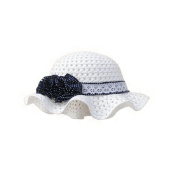 Summer Fashion Baby Girl Sun Protection Hat With Flowers