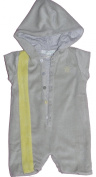 Baby Boys Designer Towelling Hooded All in One