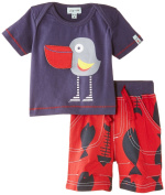 Lilly & Sid Baby-Boys Pelican Rex Woven Short Clothing Set