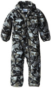 Columbia Baby-Boys Infant Snowtop II Bunting, Black Critter, 18/24 Months Colour