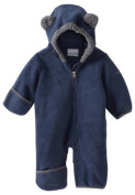 Columbia Unisex-Baby Infant Tiny Bear II Bunting, Collegiate Navy, 18/24 Months Colour