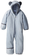 Columbia Baby-Boys Infant Tiny Bear II Bunting, Tradewinds Grey/Graphite, 12/18 Months Colour