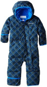 Columbia Baby-Boys Infant Snuggly Bunny Bunting, Collegiate Navy Print/Hyper Blue, 18/24 Months Colour