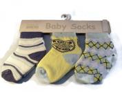 3 Pair of Baby Socks Racing Team Print