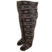 EBI & EBI - Patterned tights winter boy, brown