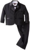 Joey Couture Baby-Boys Infant Tuxedo Suit No Tail, Black, 18 Months/Large Colour