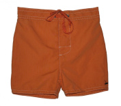 Baby Boys Swim Shorts Plain Orange 6 Months