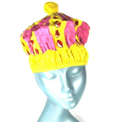 Queen of the Bathroom Bath & Shower Cap / Swim Cap Crown