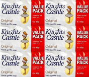 Knights Castile Original Mild & Gentle Soap 5 x 90g x 6 Packs