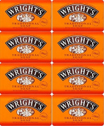 Wrights Traditional Soap Bar 125g x 8 Bars