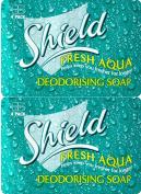 Shield Soap Aqua 4 Pack 115g x 2 Packs