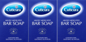Cuticura Mildly Medicated Soap 100g x 3 Packs