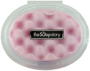 The Soap Story First Love Massaging Soap Sponge 150g