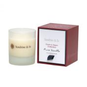 Sandrine & Jo Women's Pure Vanilla Luxury Soya Candle White