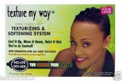 Texture My Way Herbal Conditioning Texturizing & Softening System No-Lye, No Mix