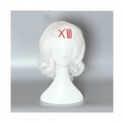 COSPLAZA Tokyo Ghoul JUZO SUZUYA REI White Hair Wavy Girls 40cm Anime Cosplay Wigs