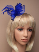 Allsorts® Royal Blue Headband Aliceband Hat Fascinator Wedding Ladies Day Race Royal Ascot