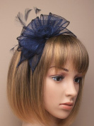 Allsorts® Navy Headband Aliceband Hat Fascinator Wedding Ladies Day Race Royal Ascot