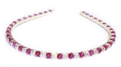 Beautiful Crystal Alice Head Band Tiara Made With SWAROVSKI ELEMENTS