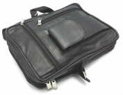 MENS REAL LEATHER TRAVEL SHOULDER MAN BAG CROSS BODY MESSENGER