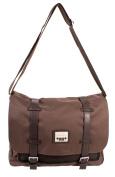 PH-1439 Brown Jeep Messenger Unisex School Laptop Shoulder Bag