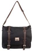 PH-1439 Black Jeep Messenger Unisex School Laptop Shoulder Bag