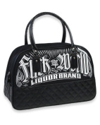 Liquorbrand Women's Fuck the World Bowling Bag BLACK standard size