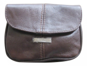 Lorenz Small Leather Handbag Purse with Flap