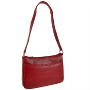 Ladies LEATHER Handbag Shoulder Bag by Sirco Leatherwares Classic Handy