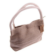 Snykk Purse Handbag Shopping Bag Coarse Linen, Natural Organic Vegan