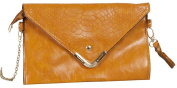 Clayre & Eef Women's Wristlet brown 16 x 26 cm