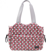 Damero Large Nappy Tote Satchel Bag with Changing Pad and Stroller Straps