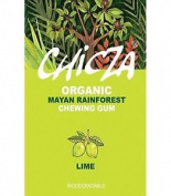 CHICZA THE ORGANIC MAYAN CHEWING GUM LIME 1 FULL BOX