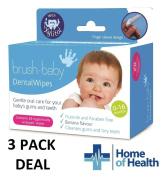 Brush Baby 28 Dental Wipes **3 PACK DEAL**