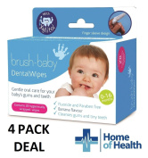 Brush Baby 28 Dental Wipes **4 PACK DEAL**
