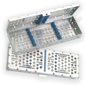 Sterilisation Cassette Rack for 5 Dental Instruments Surgical Prestige #05012