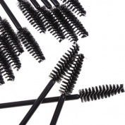checknow 2015 uk new 20 pcs Disposable Eyelash Brush Mascara Wands Application Lash Extension